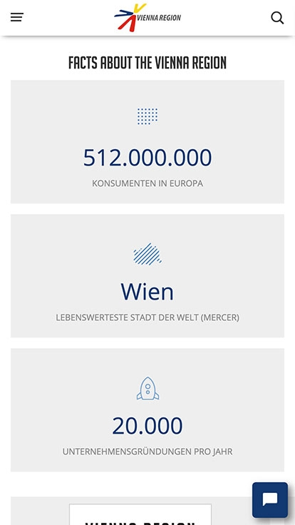 Vienna Region Marketing | viennaregion.at | 2017 (Phone Only 07) © echonet communication